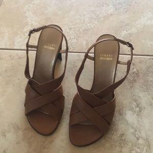 Stuart Weitzman heel sandals size 7